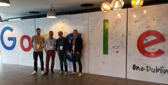 L'agence Yumens invitée du Google Digital Now à Dublin