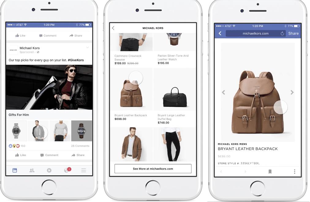 Boostez vos ventes grâce à Facebook Collection !